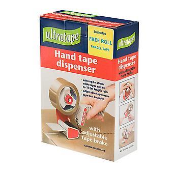 Ultratape 50mm Hand Tape Dispenser With Brake