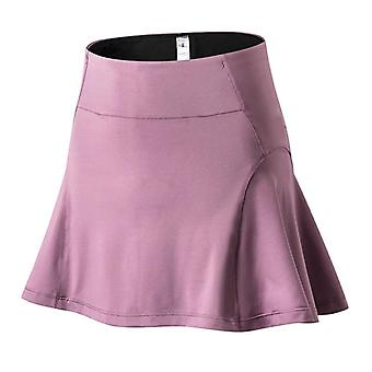 Breathable Running Athletic Yoga Shorts With Skirt