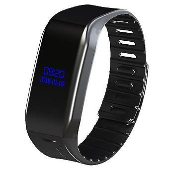 Профессиональный цифровой o ручка диктофон активированный звук диктафон браслет часы mp3 плеер носимых oled s