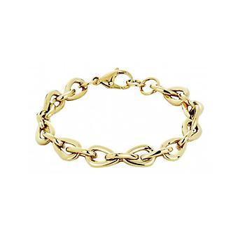 Pulsera de viajero acero chapado en oro - 181010 - 876