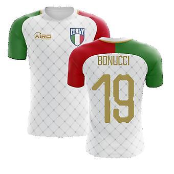 2020-2021 Italien Away Concept Fodbold trøje (Bonucci 19)
