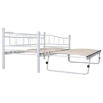 """Sofa Bed Metal Frame with 4 Wheels 2 lockable, Fits for 35""""x79""""/71""""x79"""" mattress in Living Room Bedroom"""