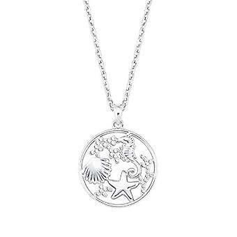 amor Necklace with women's pendant, in Sterling 925 silver, with zircons(3)
