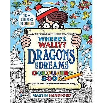 Where's Wally Dragons and Dreams Colouring Book