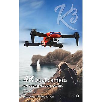 E99 PRO RC drone 4K HD Double Caméra GPS WiFi FPV Pliable retour automatique| Hélicoptères RC