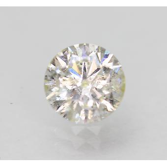 Sertifioitu 0,71 karat G SI2 pyöreä brilliant parannettu luonnollinen löysä timantti 5,75mm