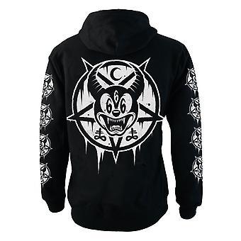 Darkside - MICKEY 666 Fleece Zip Hættetrøje