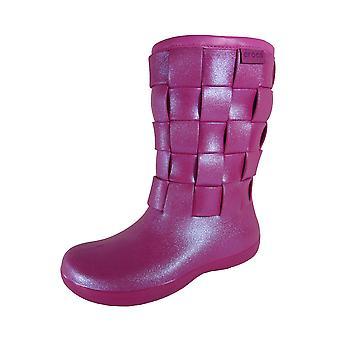 Crocs Womens Super Modellato Iridescent Weave Boot Shoes