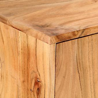 vidaXL Sideboard 150×40×75 cm Akazie Massivholz