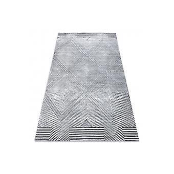 Rug Structural SIERRA G5012 Flat woven grey - geometric, diamonds