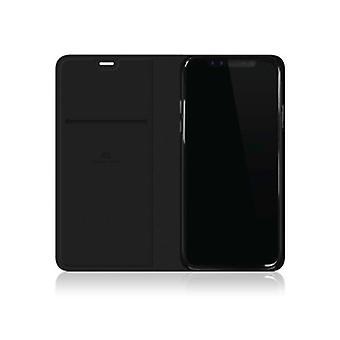 Black Rock Material Häfte Pure Case för iPhone X - Svart
