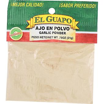 El Guapo Garlic Powder, Case of 12 X 0.75 Oz
