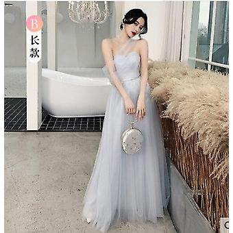 Elegáns koszorúslány ruhák Hosszú nem egyező Szalagavató ruha Esküvőre ( Set 2)