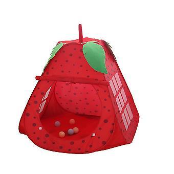 Red 80*80*100cm children indoor folding tent kids indoor playhouse homi2496