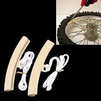 2 stuks motorfiets veranderende band band velg velg edge protectors saver tool
