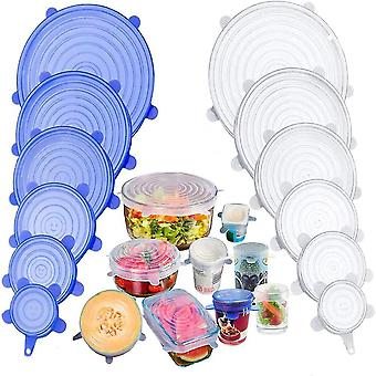 Silicone Cover Stretch Lids Reusable Airtight Food Wrap Covers Keeping Fresh Seal Bowl Stretchy Wrap