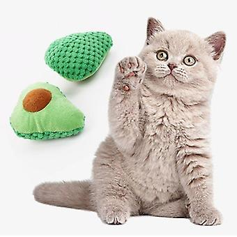 Cat toy paper rope green cactus