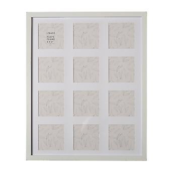 "iFrame Multi Aperture Rahmen 12 x 4"" x 4"" Weiß 50cm"