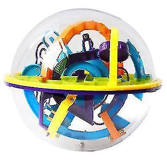 158 nivåer utfordring bane labyrint ballspill 3D labyrint ball barnas pedagogiske leker magisk labyrint