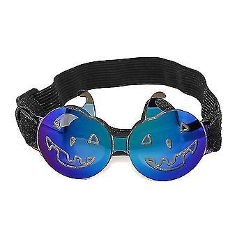 Halloween-Sonnenbrille für kleine und mittlere Haustiere, Brille für Fotografie Requisiten