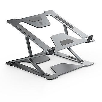 Säädettävä taitettava kannettavan tietokoneen jalusta liukumaton pöytätietokoneen kannettavan tietokoneen pidike kannettava jalusta s Kannettava macbook