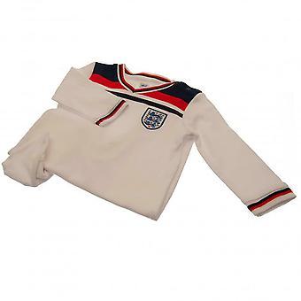 Angleterre FA Baby 82 Combinaison de nuit rétro