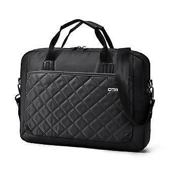 Laptop Bag 15.6 Inch, Nylon Diamond Pattern Water Resistant Laptop Briefcase Shoulder Messenger Bag,dark Blue