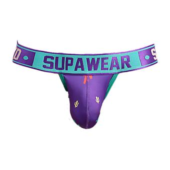 Supawear Sprint Cacti Jockstrap Prickly Purple | Men's Underwear | Men's Jockstrap