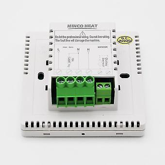 Heating radiators temperature controller lcd display screen wifi tuya app weekly programmable