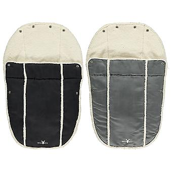 Wallaboo Footmuff Faux Suede and Soft shearling - Newborn up to 12 Months