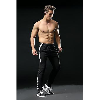 Men Thin Running Gym Fitness Sports Long Pants