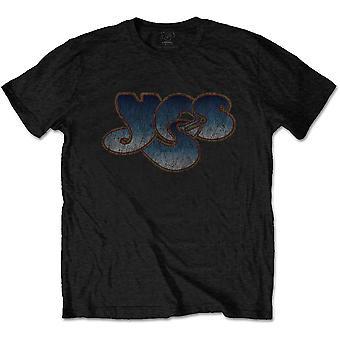 Yes - Vintage Logo Unisex Large T-Shirt - Black