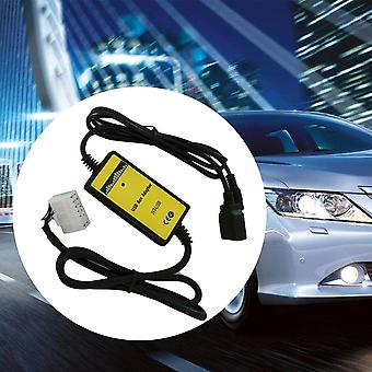 Vehicle Car Good Usb Interface Aux In Adapter 5+7 Usb Adapter For Toyota