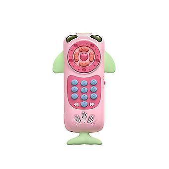 بيبي ميوزيك الكهربائية الهاتف التعليمية اللعب 0-24 أشهر التعلم المبكر Teether