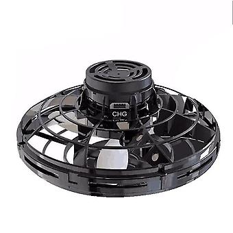 Creative Decompression Ufo Free Route Gyro Aircraft Can Swivel Induction Drone Flying Boys And Girls Toys