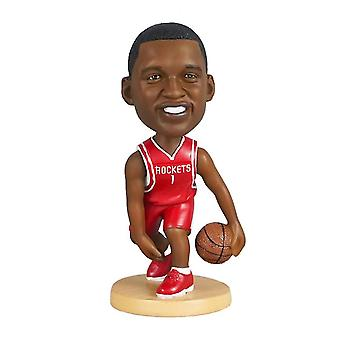 Qian Tracy Mcgrady Figurine d'action Statue Bobblehead Basketball Doll Décoration