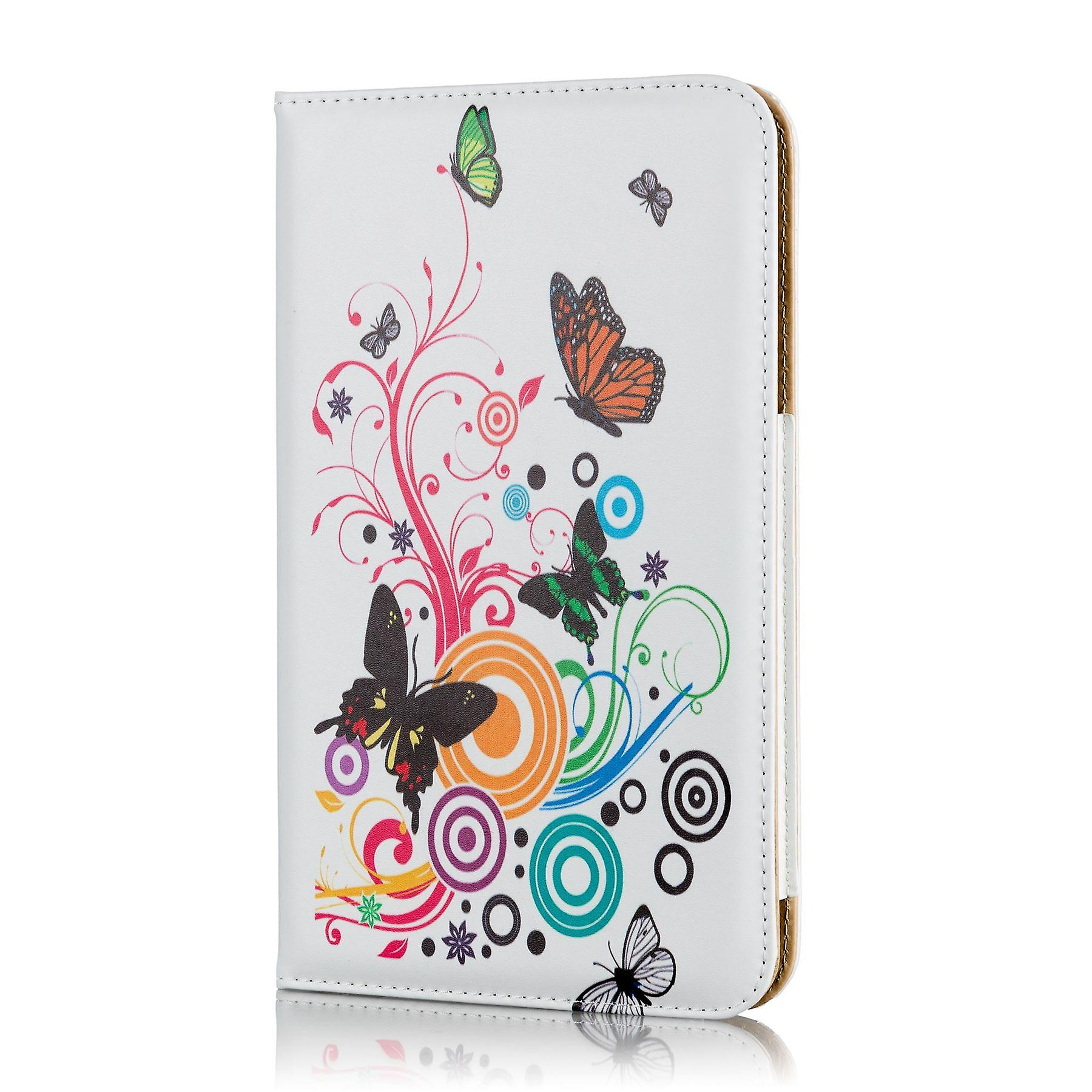 Design book case for Tesco Hudl 2 - Colour Butterfly