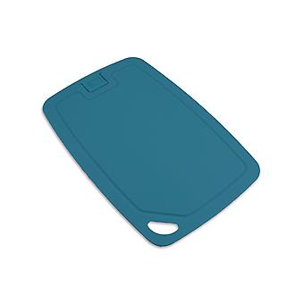 Wellos øko venlige antibakterielle skærebræt, 30 cm x 20 cm, blå