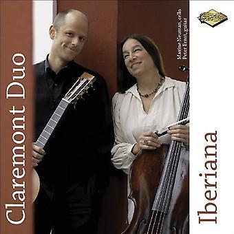クレアモント デュオ - Iberiana [CD] アメリカ インポートします。