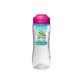 Sistema Tritan aktive Flasche 800ml Pink