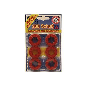 12er Ringmunition Karneval Knaller Pistole 288 Schuß