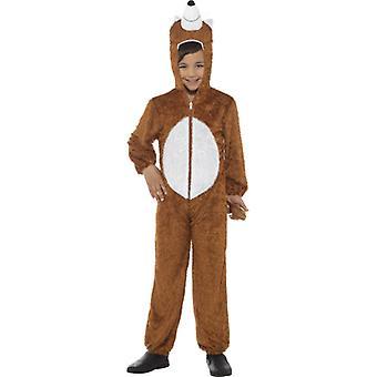 Fuchskostüm 5-8 Jahre KINDER Fuchs Kostüm