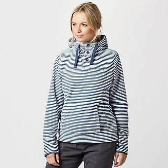 New Brasher Women's Grasmoor Ii Escursione Incappucciato Fleece Navy