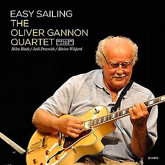 Oliver Gannon Quartet - Easy Sailing [CD] USA import
