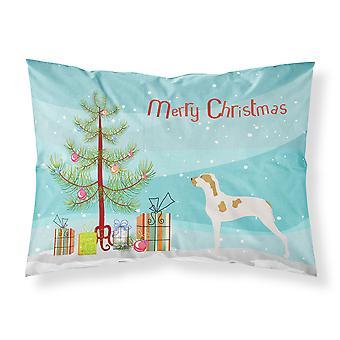 Ariege Pointer Christmas Fabric Standard Pillowcase