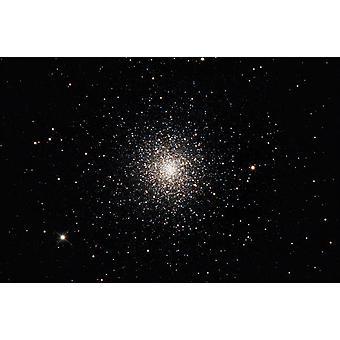 Messier 3 Käärmeenkantajan tähdistössä Ajokoirien Juliste Tulosta Rolf GeissingerStocktrek kuvia