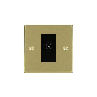 Hamilton Litestat Hartland Satin Brass 1g Non-Isolated TV (Male)BL