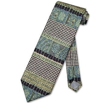 Antonio Ricci SILK NeckTie Made in ITALY Geometric Design Men's Neck Tie #3107-6