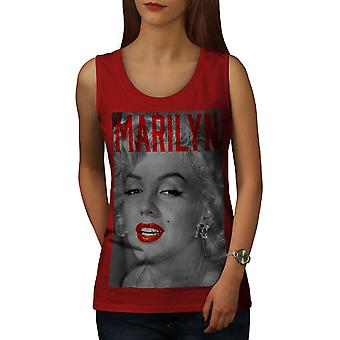 Marilyn rétro Photo femmes RedTank Top | Wellcoda