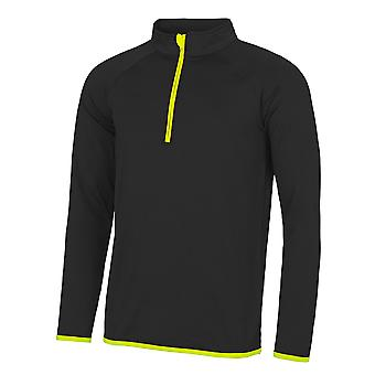 AWDis Just Cool Mens Half Zip Sweatshirt